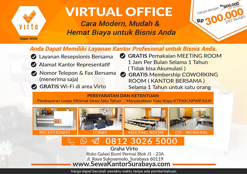 virtual office surabaya